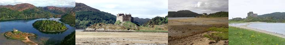 Castle Tioram and Beach